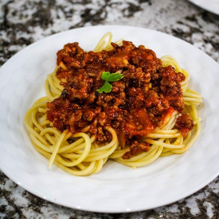 ragu spaghetti