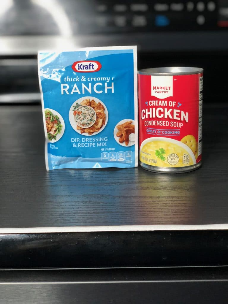ranch seasoning and cream of chicken