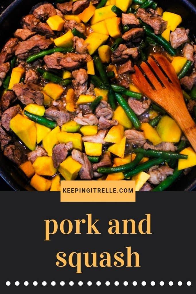 pork and squash