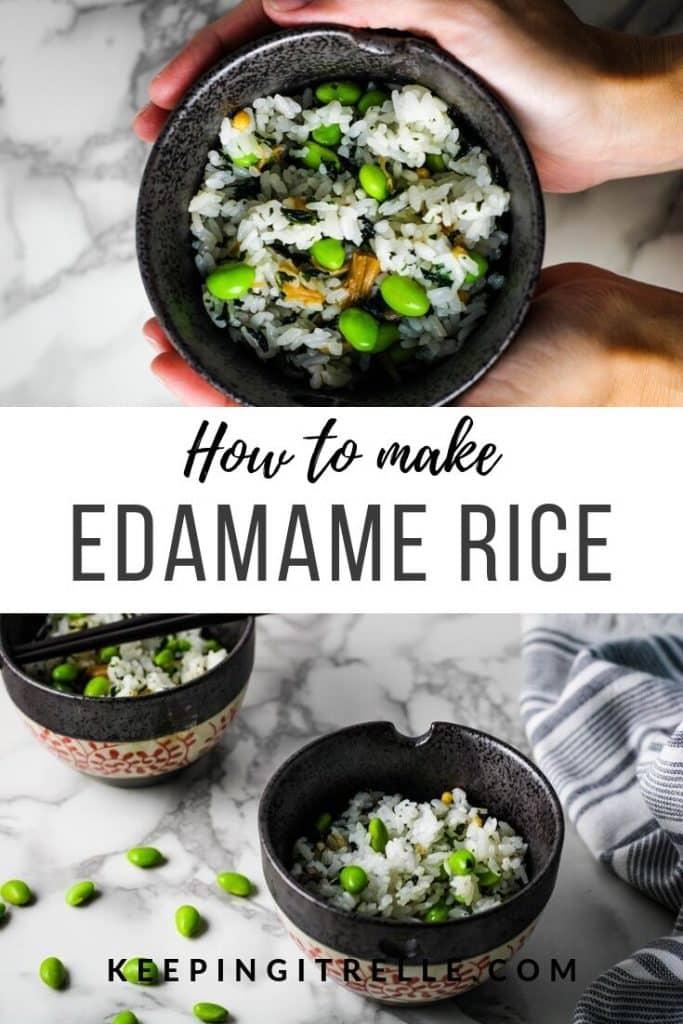 edamame rice