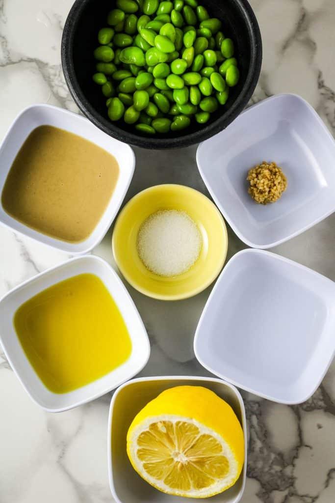 edamame hummus ingredients