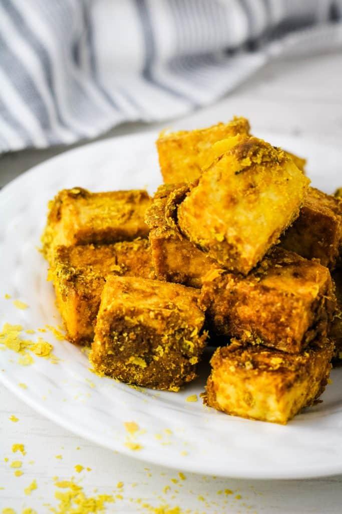 off set mock chicken tofu