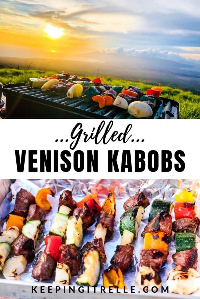 venison kabobs