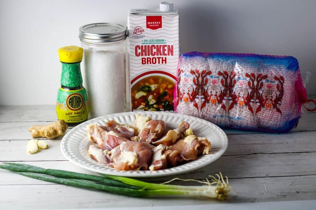 chicken long rice ingredients