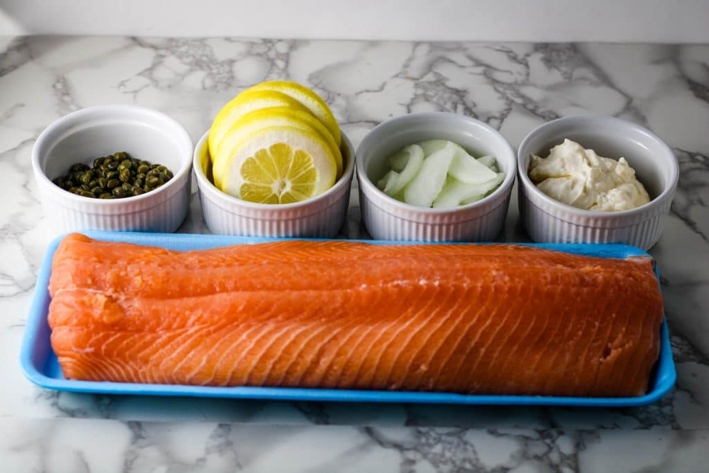lemon caper salmon ingredients