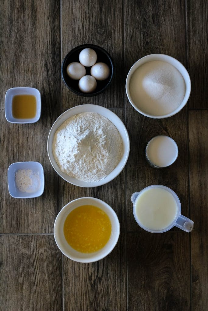 butter mochi ingredients