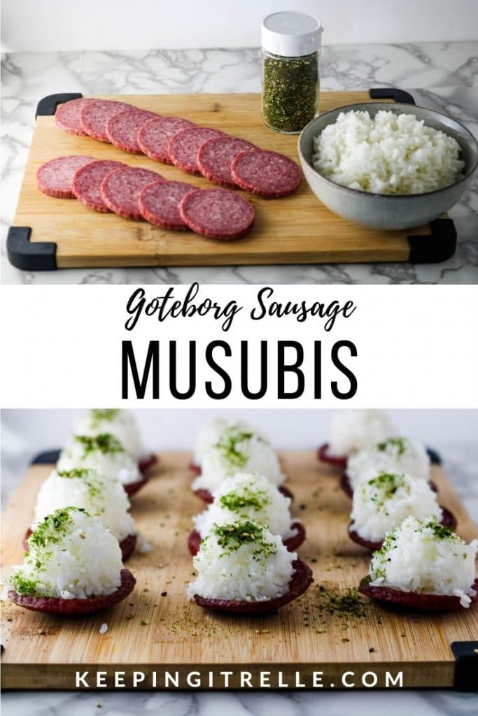 Goteborg Sausage Musubis***As an Amazon Associate I earn from qualifying purchases***