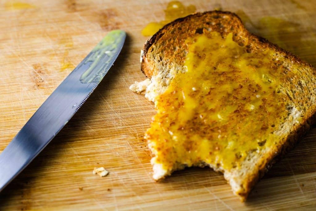lilikoi butter on toast