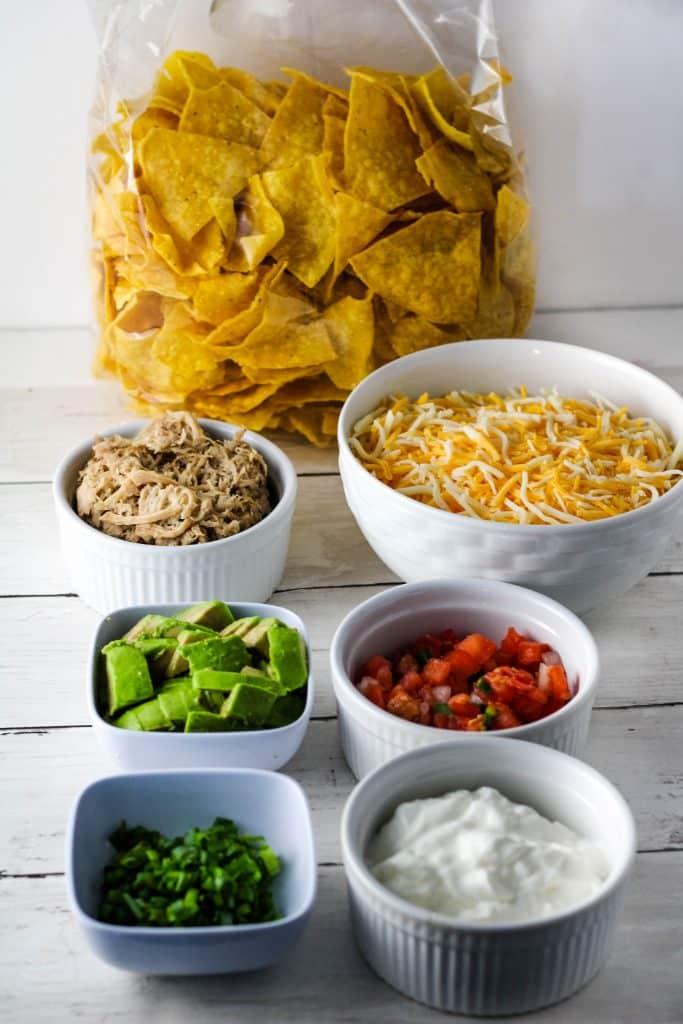 kalua pig nachos ingredients