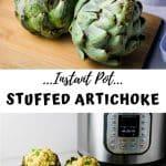 instant pot stuffed artichoke