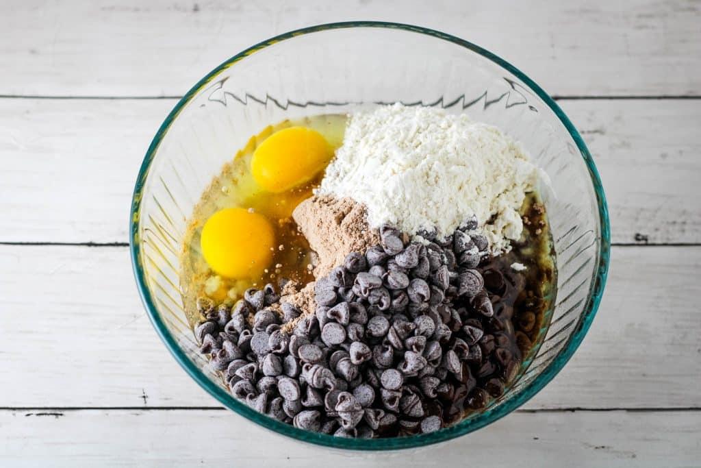 brownie mix cookie ingredients