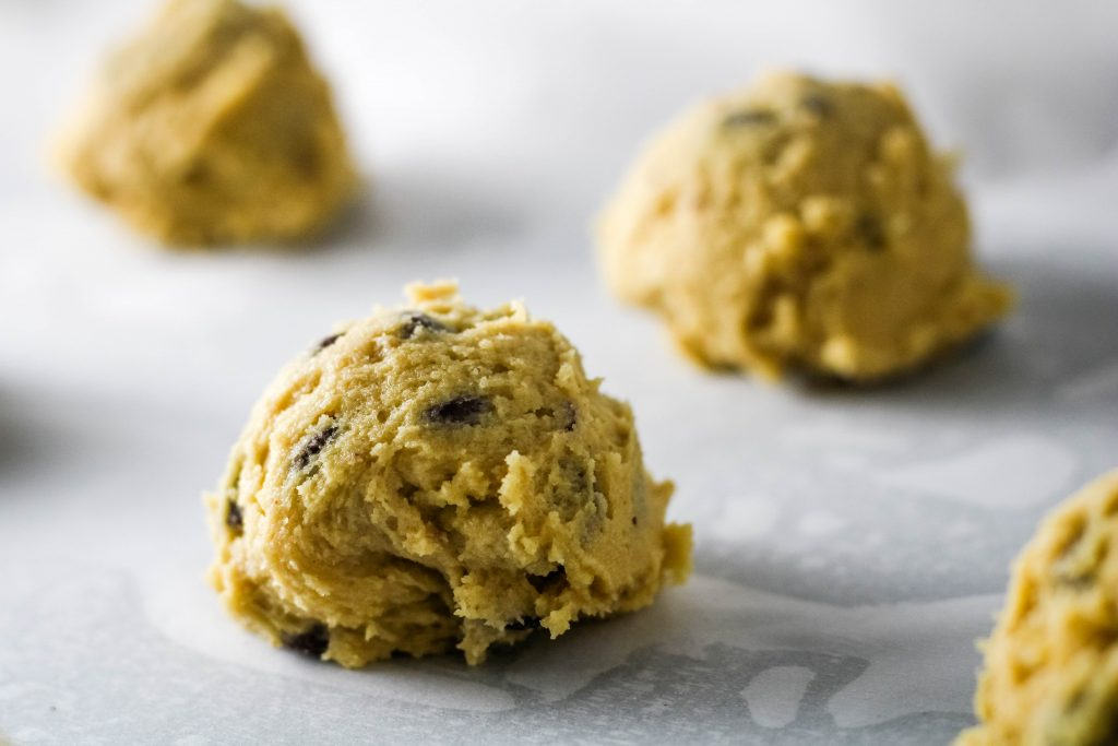 ball of cookie dough