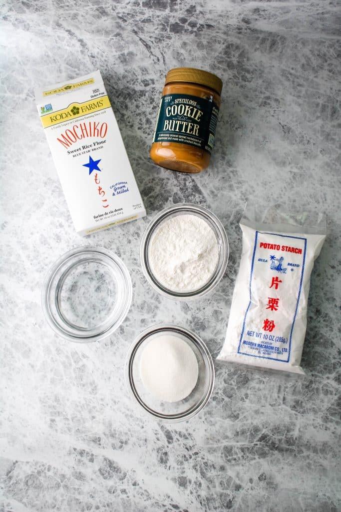 cookie butter daifuku ingredients