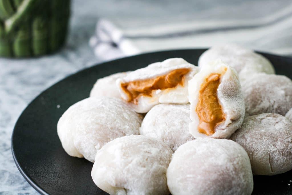 cookie butter daifuku