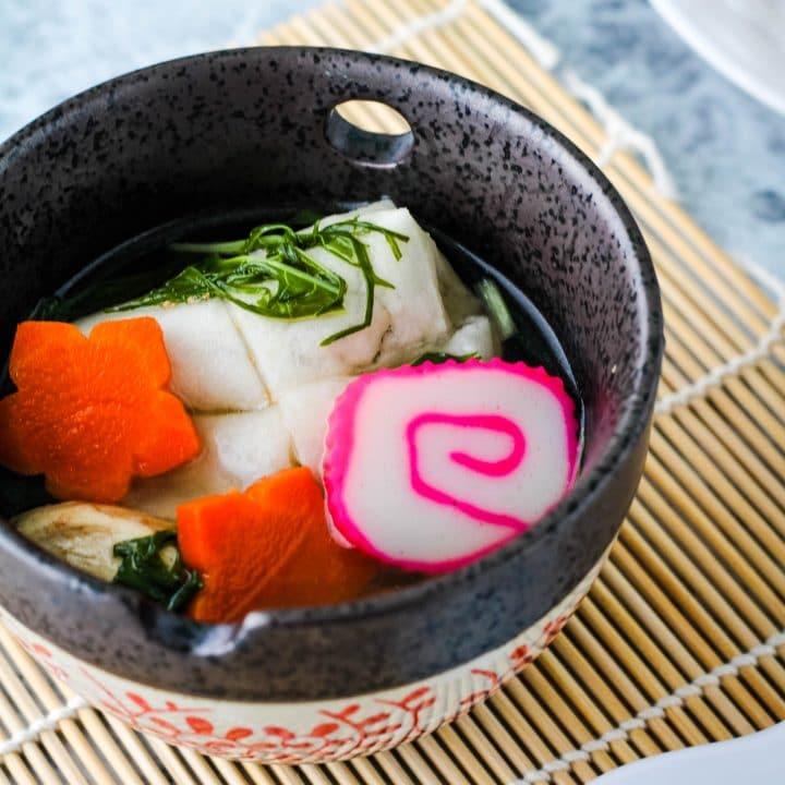 ozoni japanese mochi soup