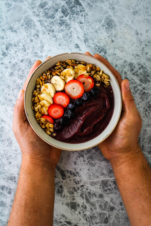 homemade acai bowl