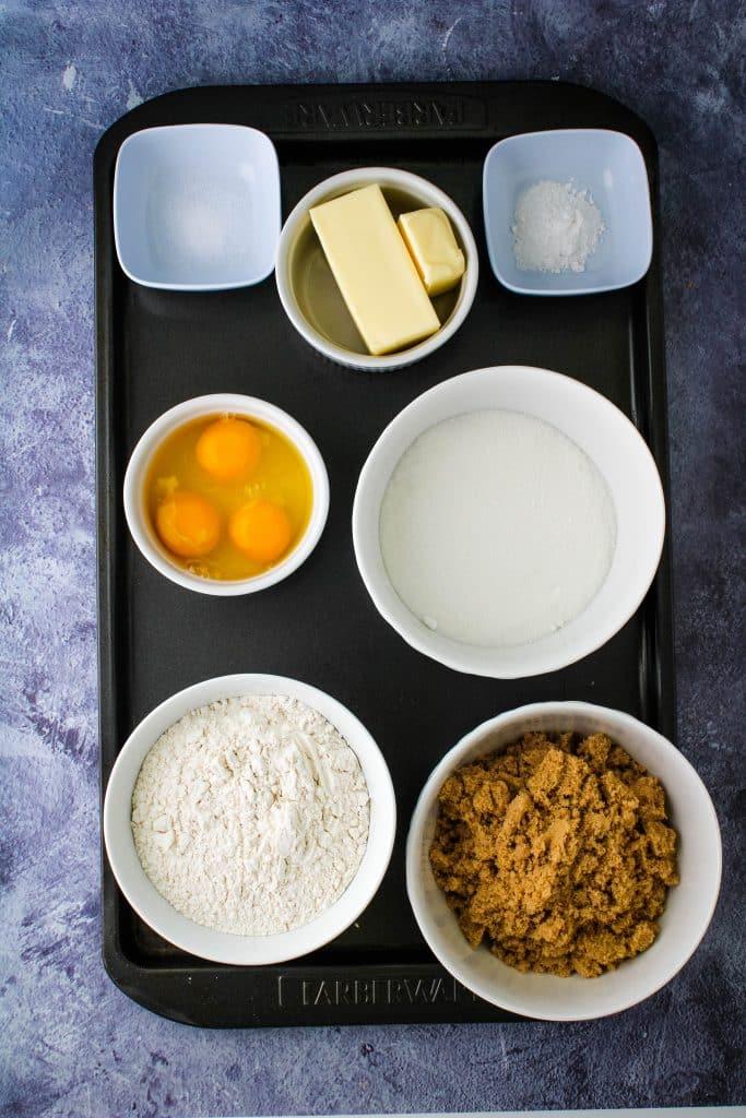 ingredients for haole brownies