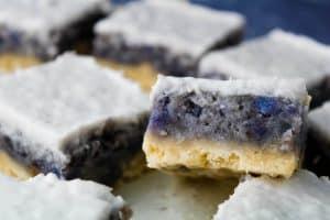 sweet potato haupia pie bars