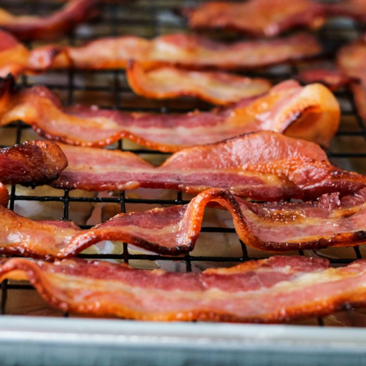 easy crispy air fryer bacon
