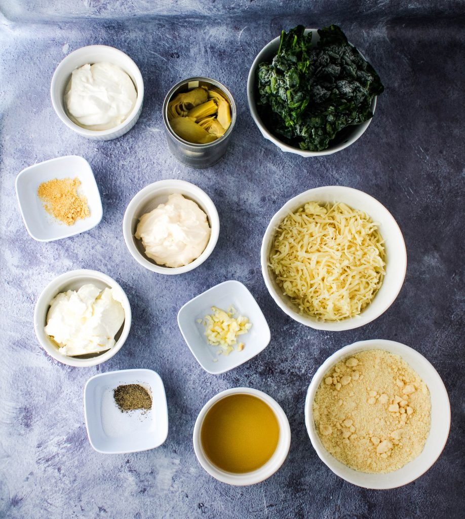instant pot spinach artichoke dip ingredients