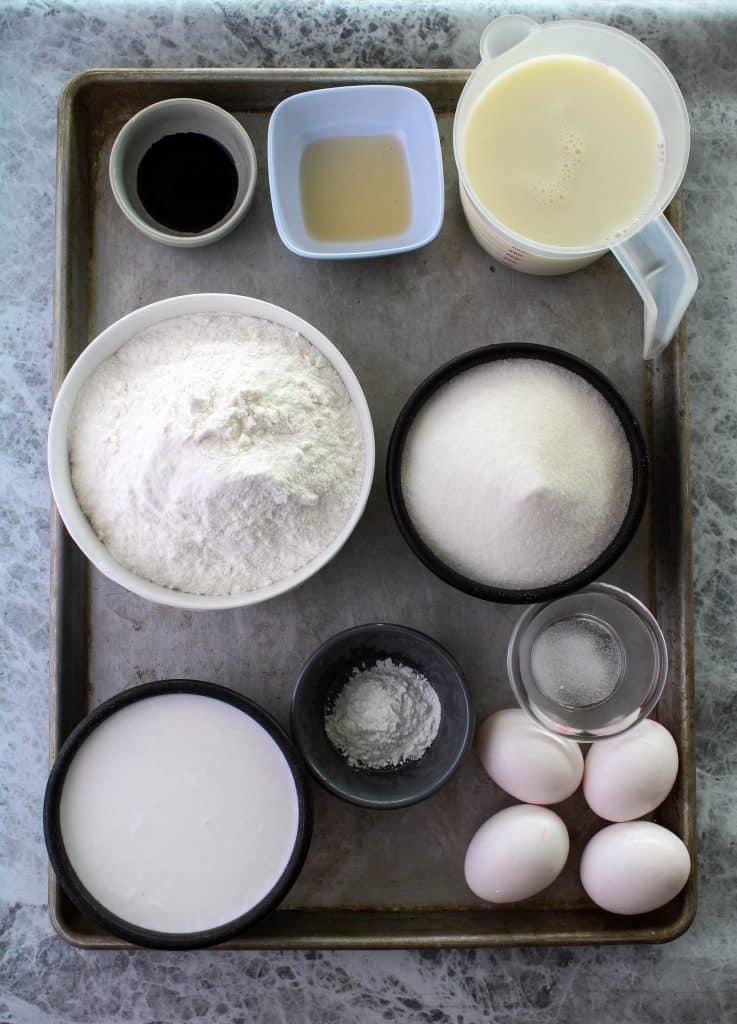 ube mochi ingredients