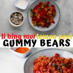 li hing mui lemon peel gummy bears