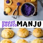sweet potato manju