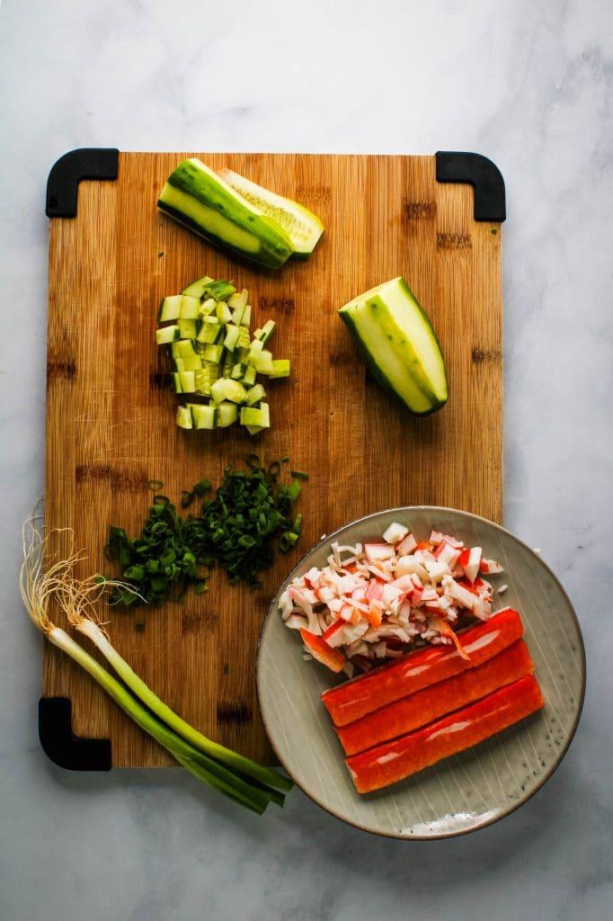 sushi bake ingredients