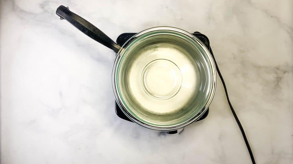 ube butter double boiler