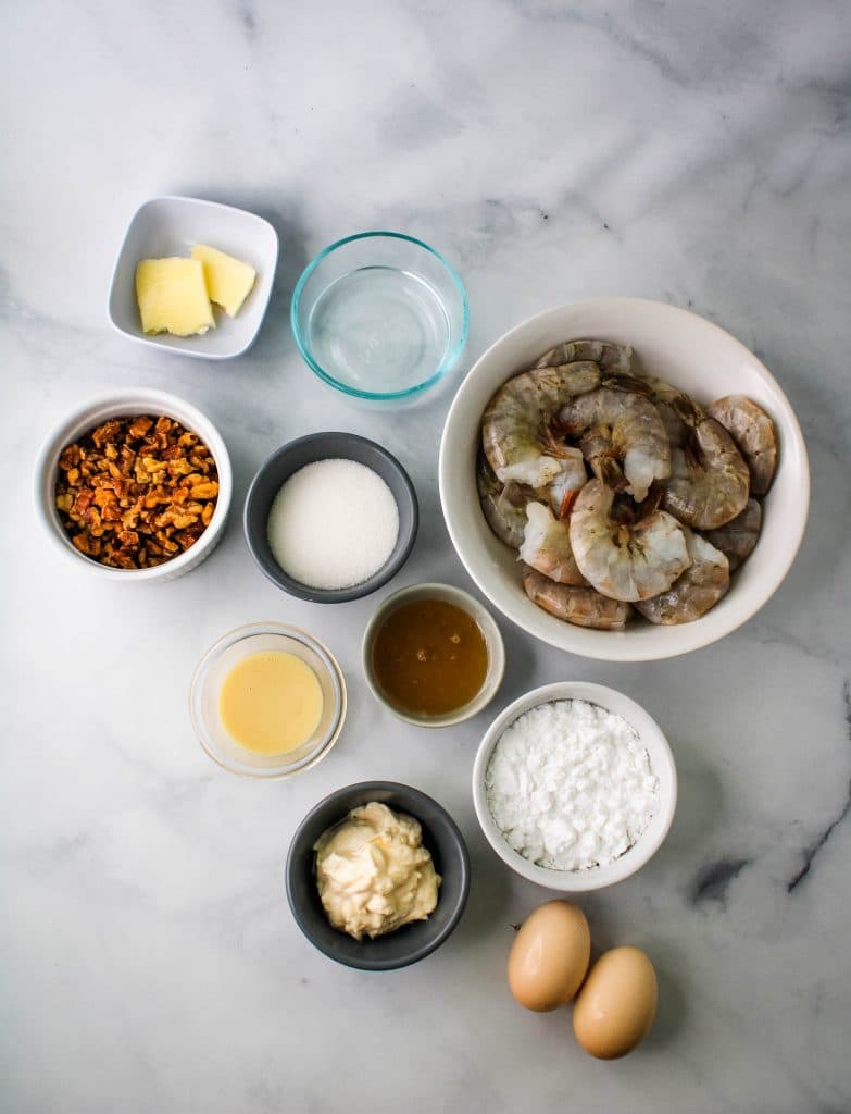 honey walnut shrimp ingredients
