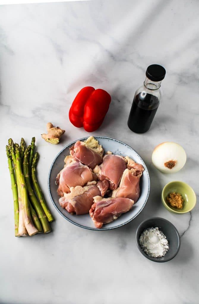 teriyaki chicken stir fry ingredients