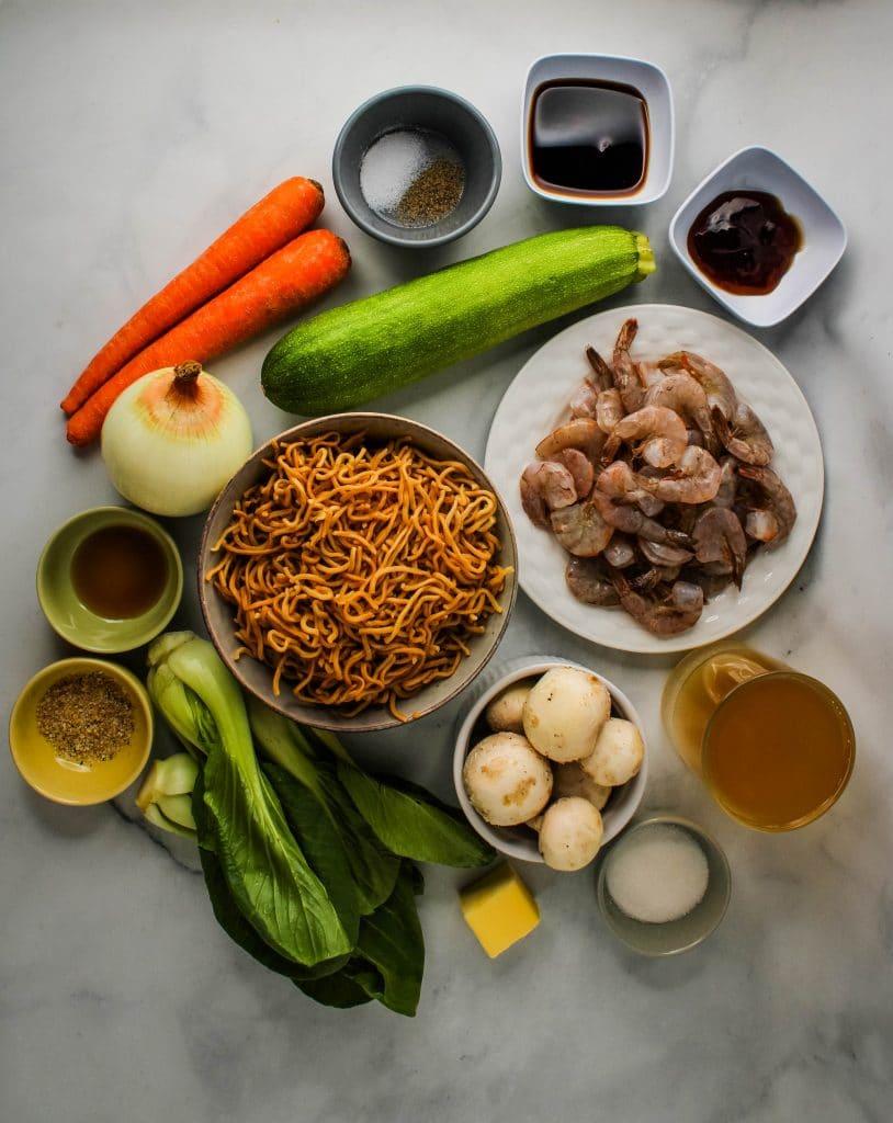 crispy noodles ingredients
