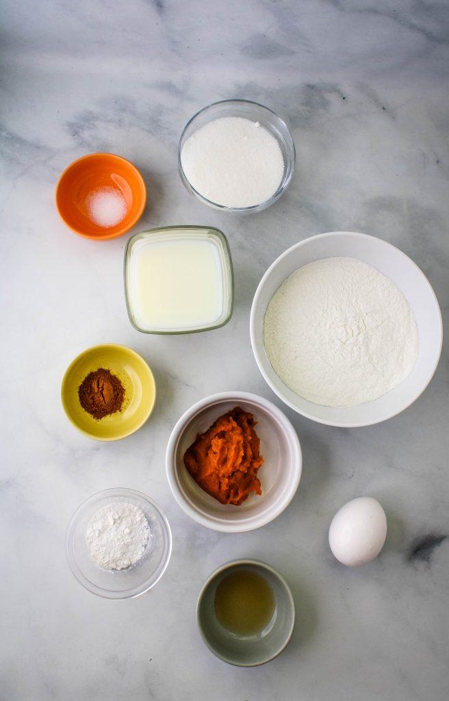 pumpkin mochi waffles ingredients