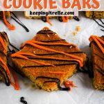pancake mix cookie bars pin