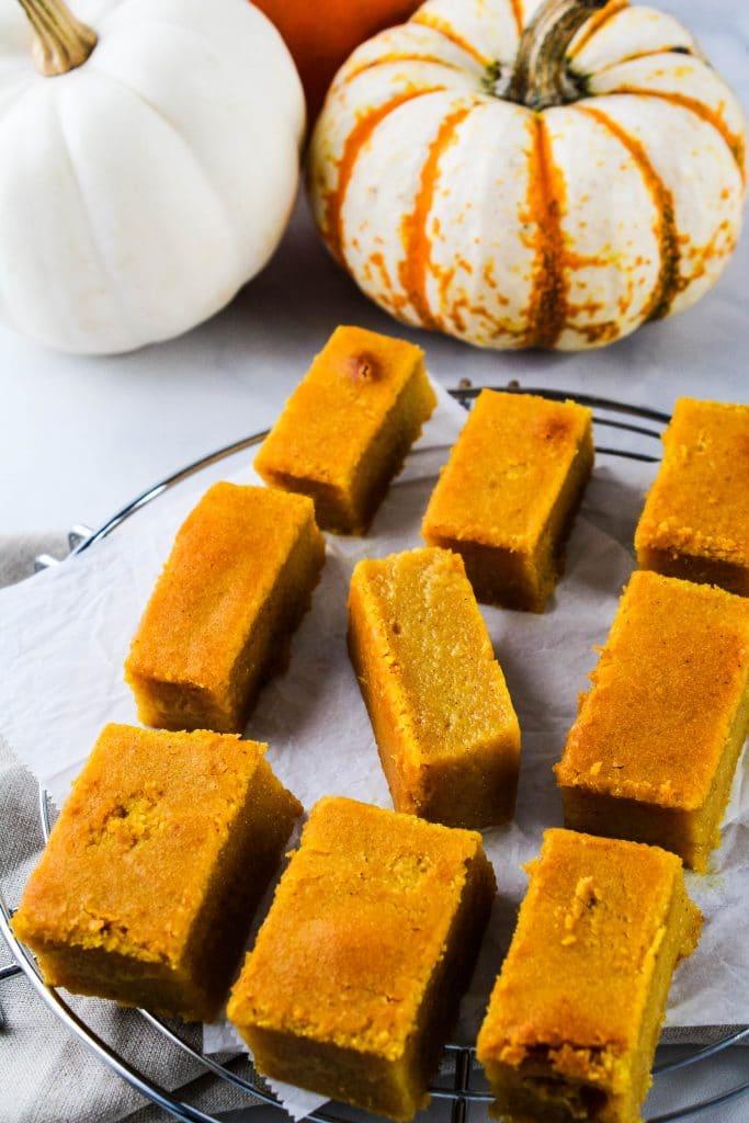 pumpkin butter mochi
