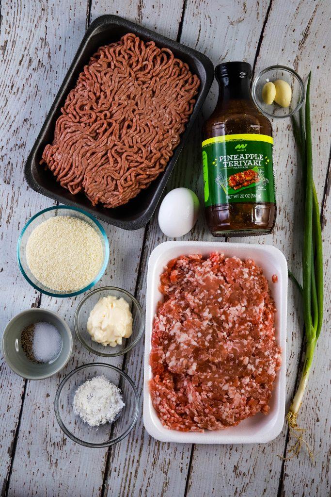 air fryer teriyaki meatball ingredients