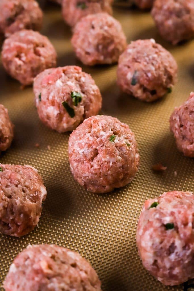 air fyer meatballs