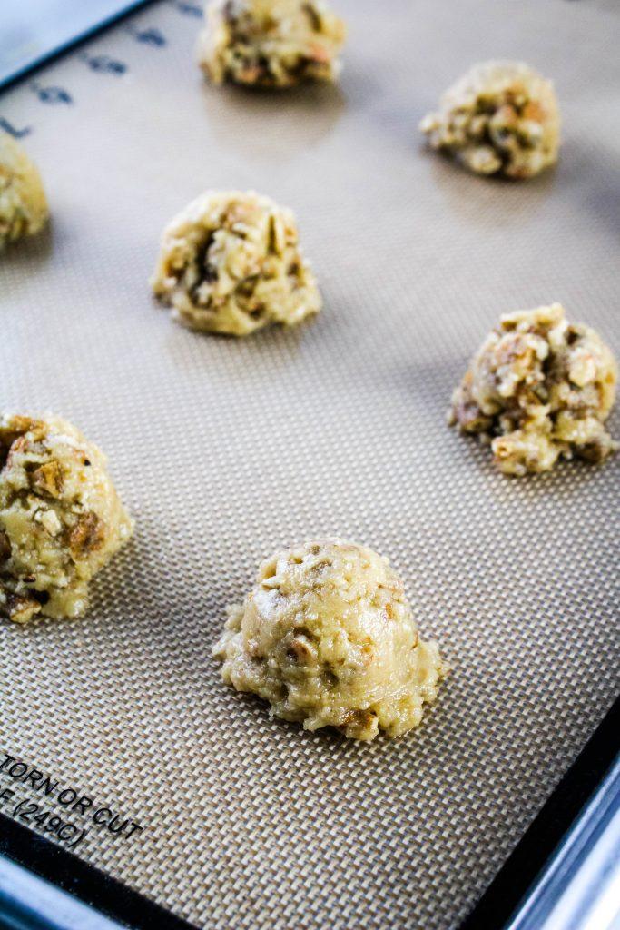 mochi crunch cookies dough