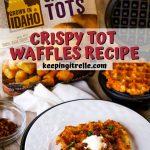 cripsy tot waffles