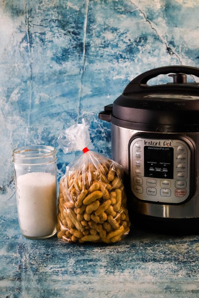 instant pot boiled peanuts ingredients