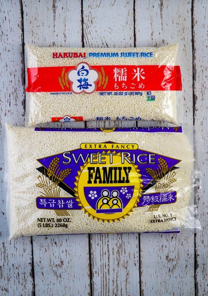 kiri mochi sweet rice