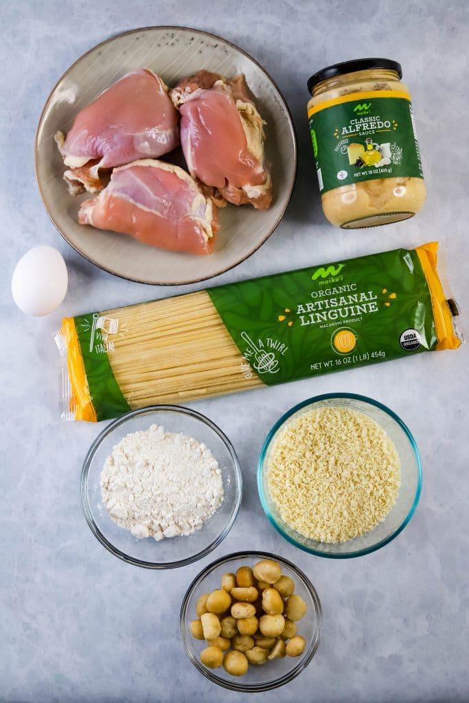 chicken alfrdo pasta ingredients
