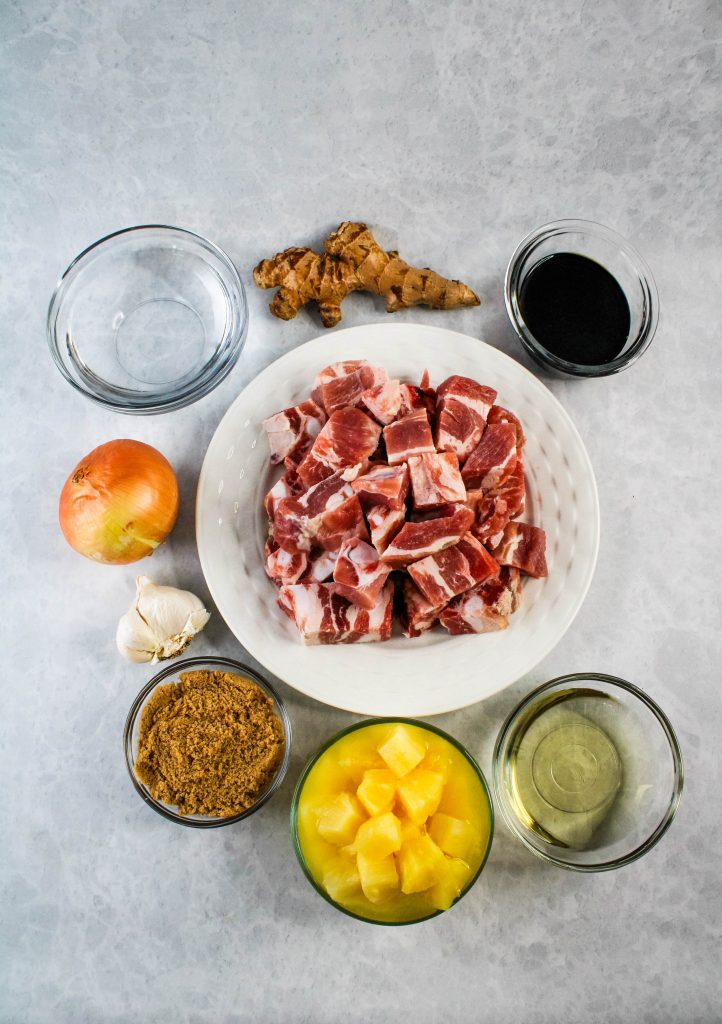 instant pot sweet and sour spare ribs ingredients