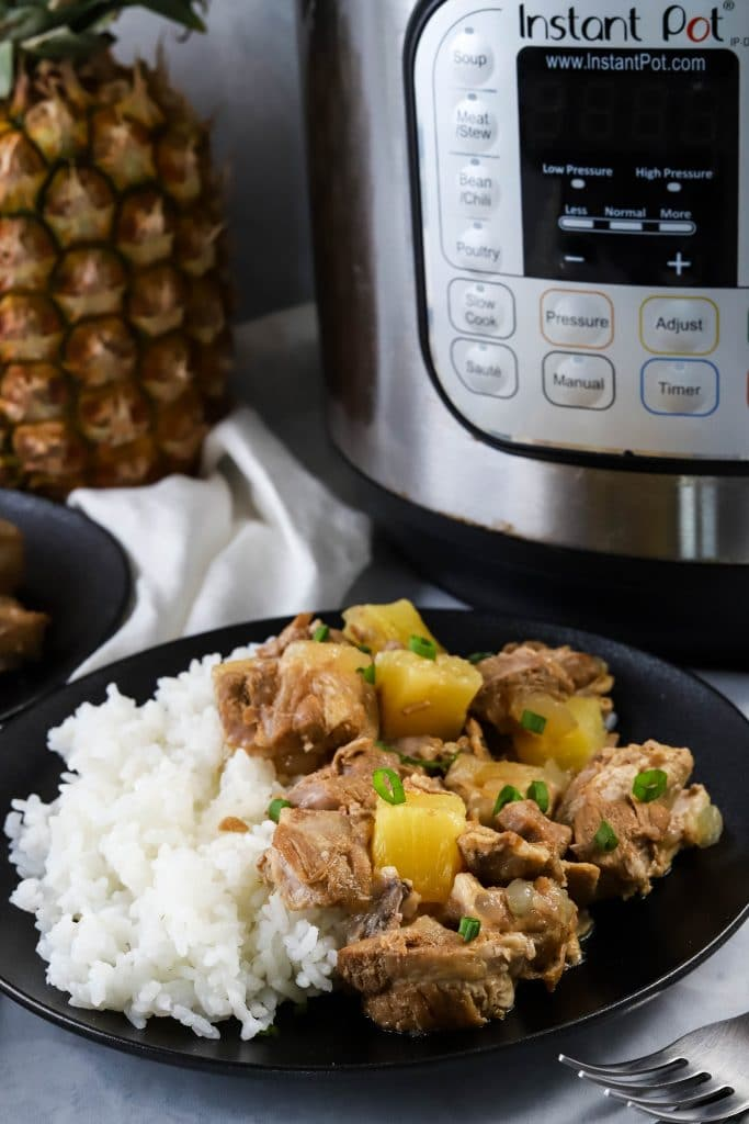 instant pot sweet and sour spare ribs