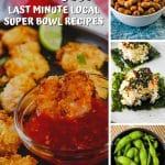 super bowl recipes pin