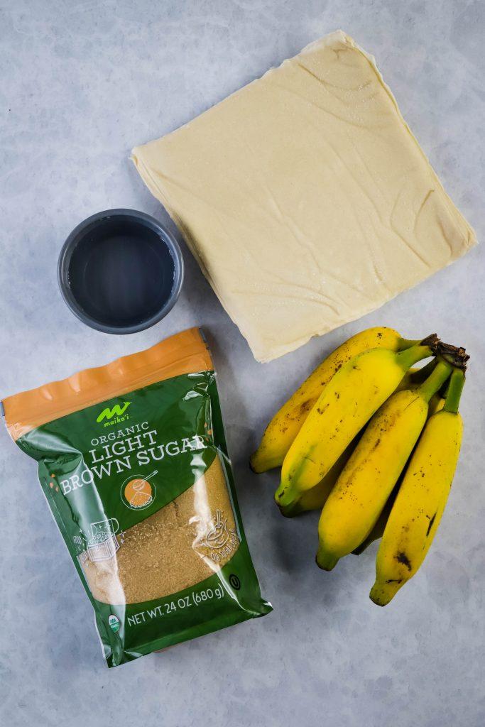 banana lumpia ingredients