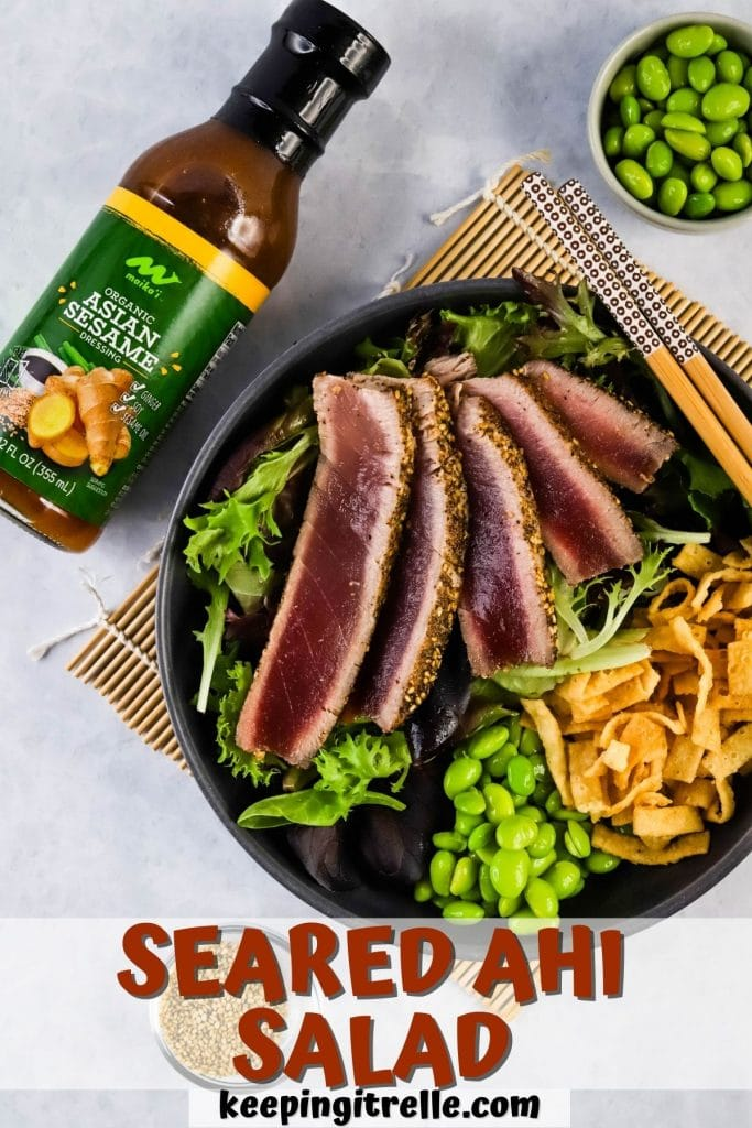 seared ahi salad pin