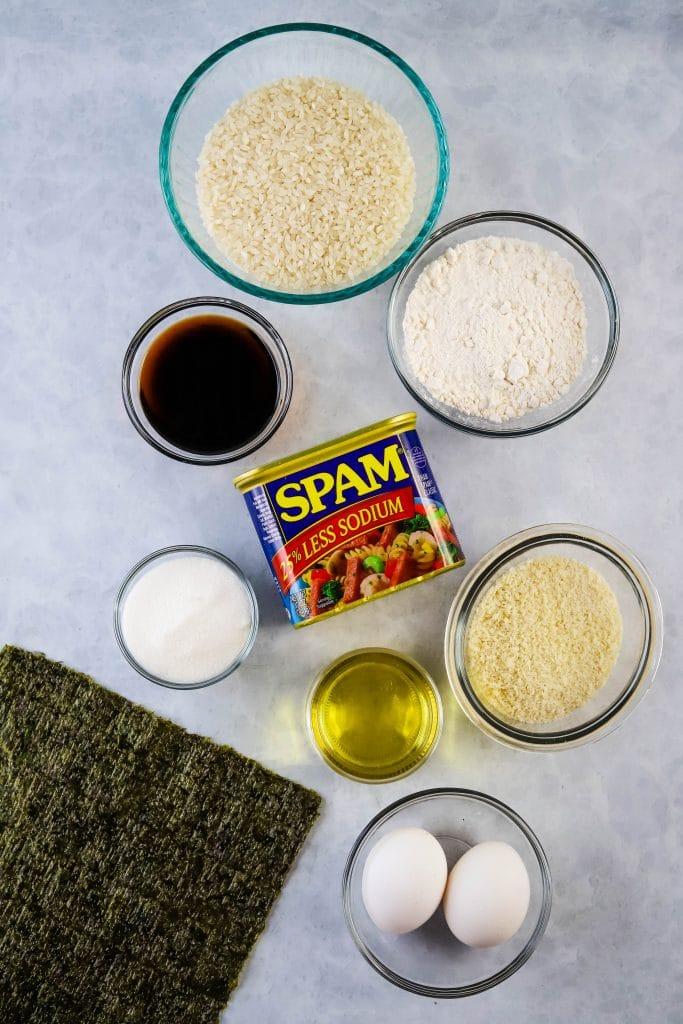 spam katsu musubi ingredients