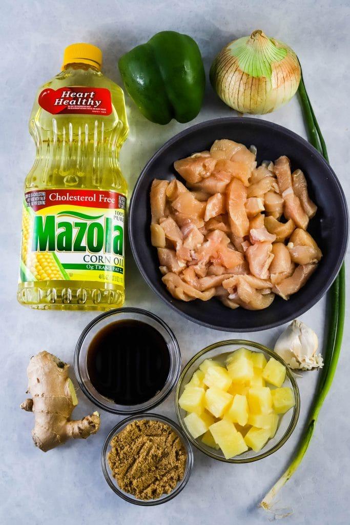 teriyaki chicken kabobs ingredients