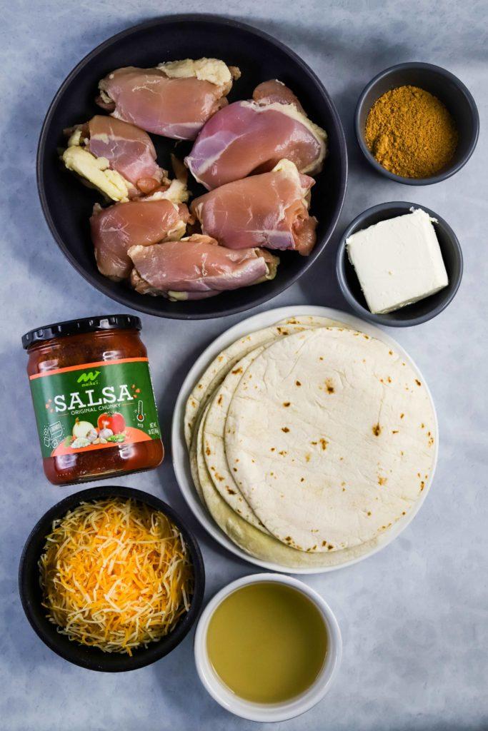 baked chicken taquitos ingredients
